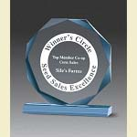 Beveled Octagon Acrylic Award - 6