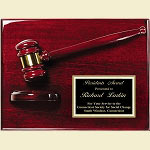 Piano Finish Gavel Award Plaque 9