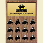 Custom Employee of the Month Plaque