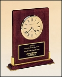 Rosewood Piano Finish Desk Clock  8