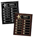 Vertical Star Boarder Easy Perpetual Plaque 10.5 x 13