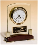 Glass Desktop Clock BC872