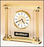 Glass Desktop Clock BC9