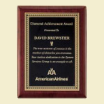 Piano Finish Award Recognition Plaque 9