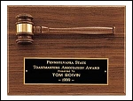 Gavel Award Plaque 9