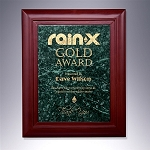 Rosewood Marble Award Plaque - 9