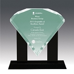 Diamond Bevel Acrylic Award 11