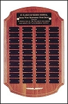 Perpetual Recognition Plaque - 12