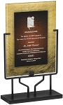 Acrylic Art Plaque  PLX801REI With Iron Stand - 15