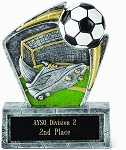 Resin Soccer Trophy 503 - 6