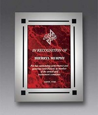 "Clear Acrylic Recognition Plaque 8""x10"""