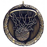 "2"" XR Basketball Medal"