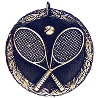 "2"" XR Tennis Medal"