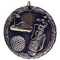 "2"" XR Golf Medal"