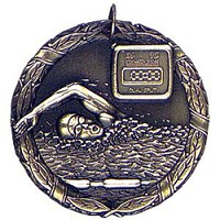 "2"" XR Swimming Medal"