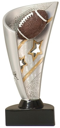 Banner Resin Football Trophy 638 - 7""