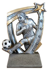 Female Resin Star Soccer - 6""