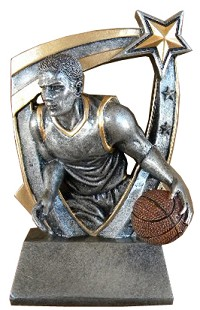 Basketball Trophy 712 - 6""