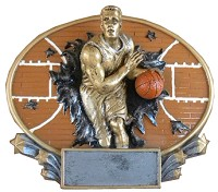 Basketball Trophy 713 - 7""