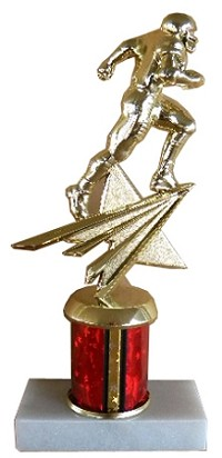 Star Football Action Trophy - 8""