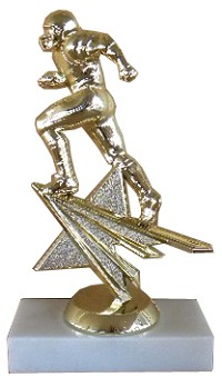 Star Action Football Trophy - 6""