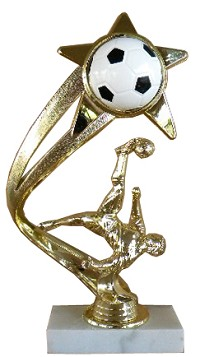 Action Soccer Trophy - 8""