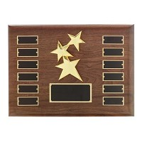 "12""x15"" Constallation Employee of the Month Plaque - 7002"