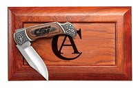 Lockback Knife with Bolsters in Gift Box
