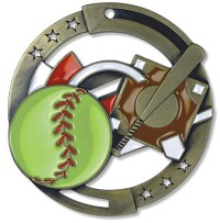 "2.75"" M3XL Softball Medal"