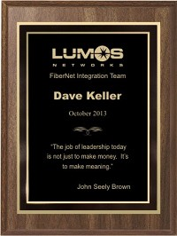 "Economy Award Plaque - 6""X8"""