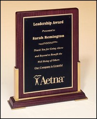 "Rosewood Desktop Recognition Plaque 8""x10"""