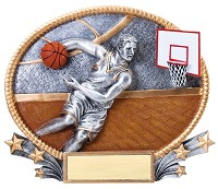 Basketball Trophy 710 - 7""