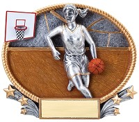 Basketball Trophy 709 - 7""