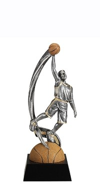 Basketball Trophy 704 - 7""