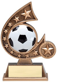Star Resin Soccer Trophy 505 - 5.75""