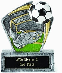Resin Soccer Trophy 503 - 6""